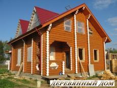 Изготовление и строительство деревянных домов.