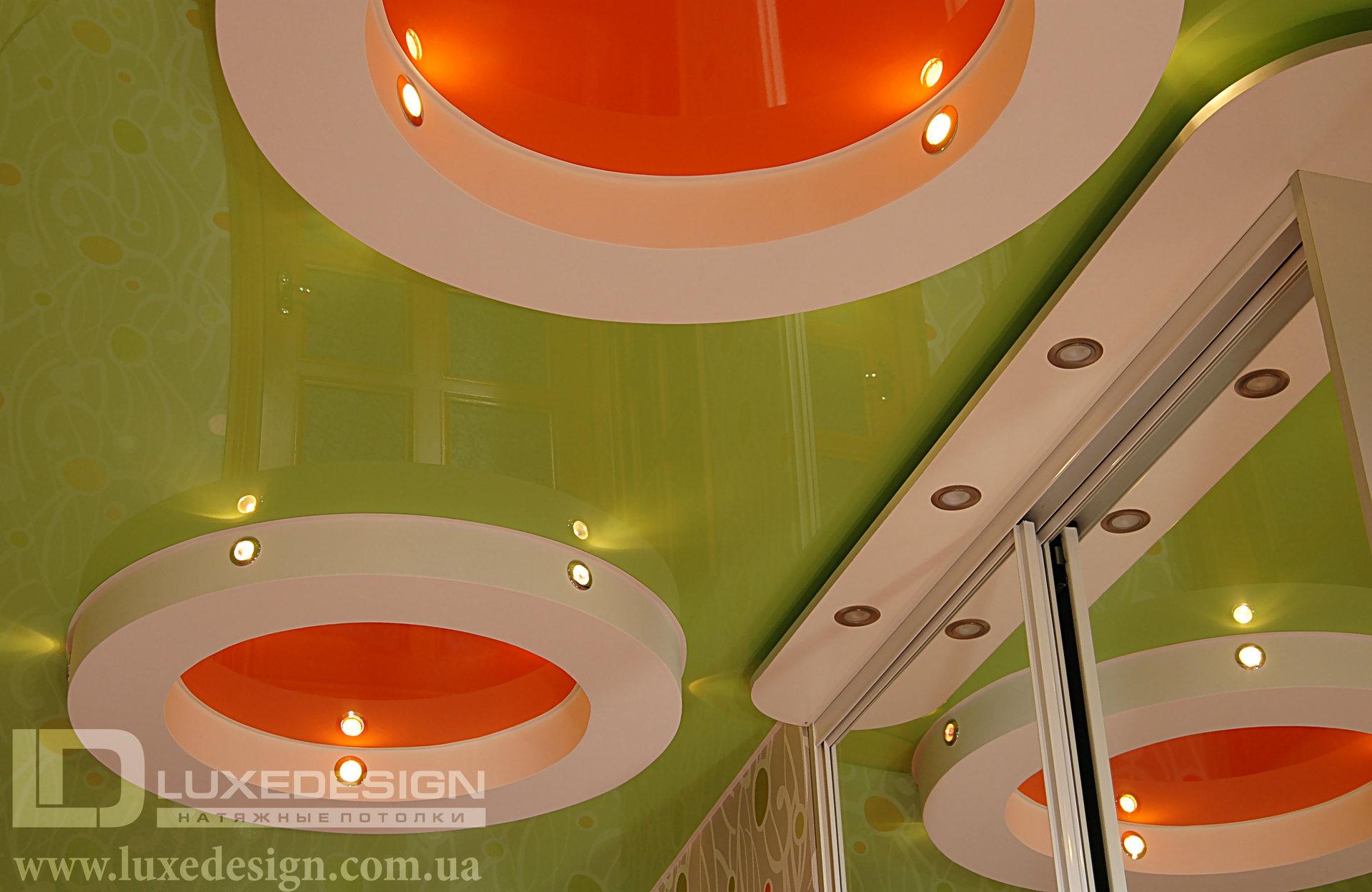 Дизайн натяжных потолков цены