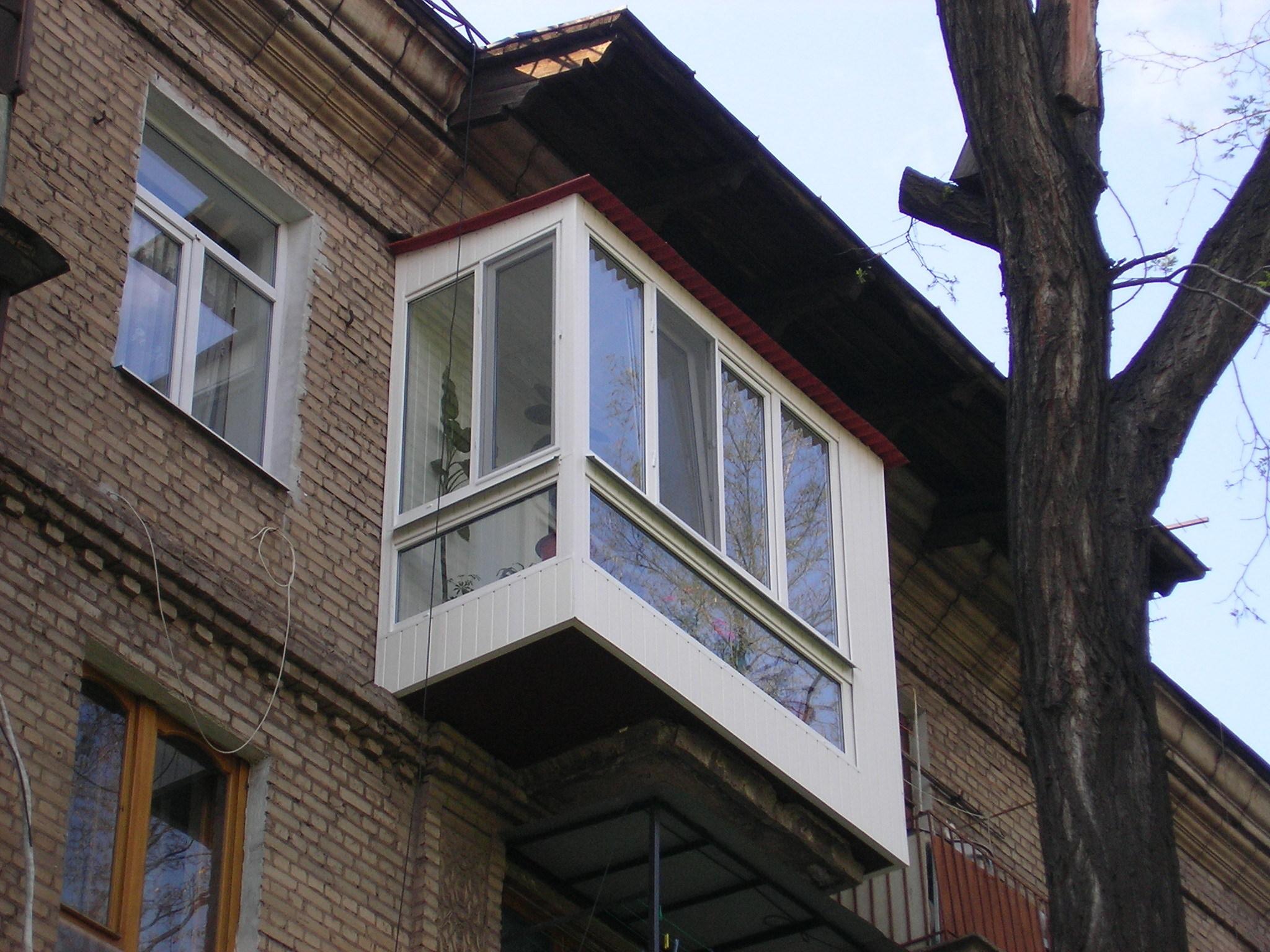 Фото и видео советы по капитальному ремонту балкона.