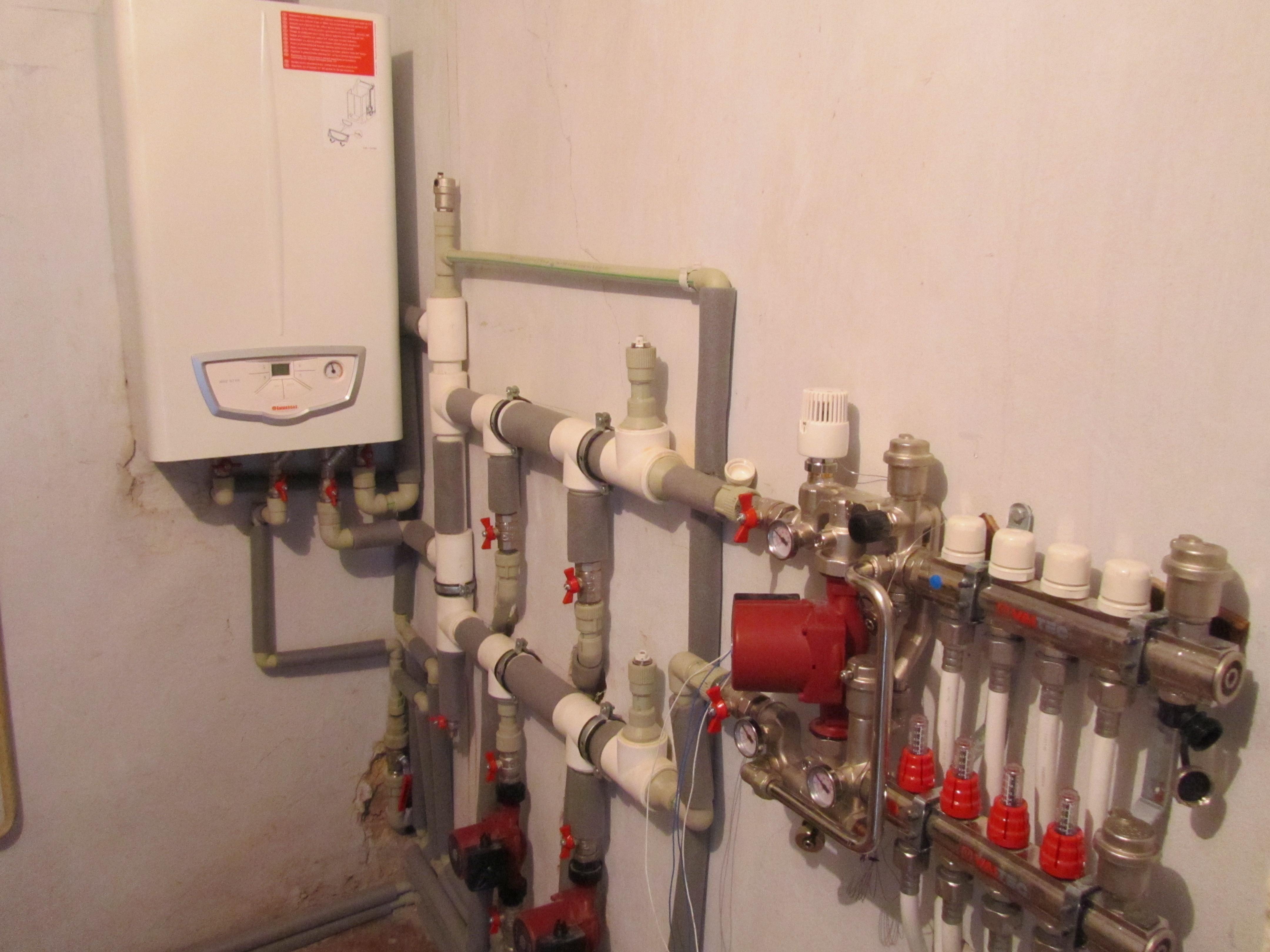 Монтаж автономного отопления в квартире своими руками