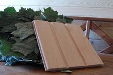Вагонка деревянная (сосна, ольха, липа).