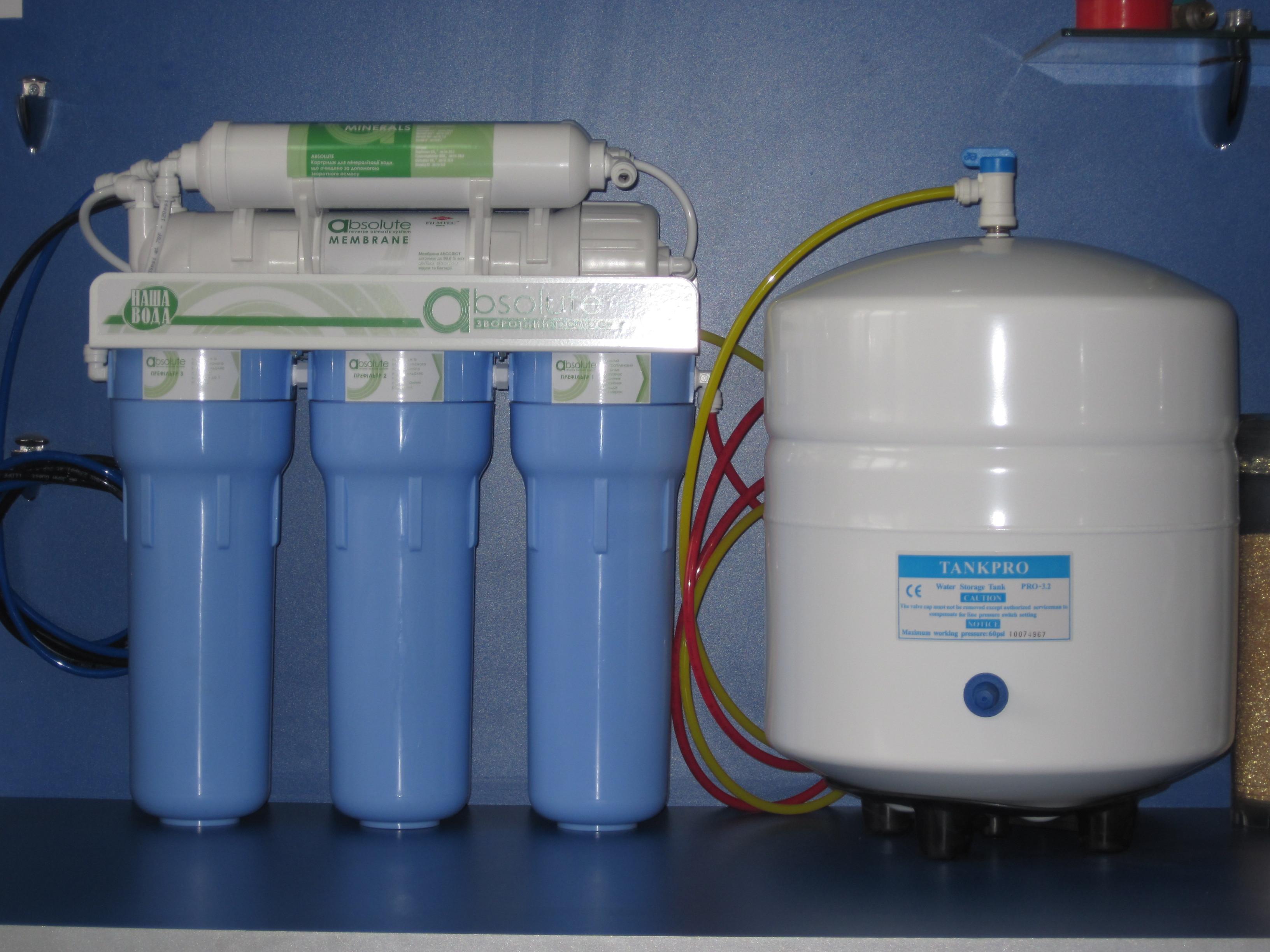 Фильтры по очистке воды в домашних условиях 998
