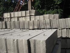 Блоки фундаментные, плиты перекрытия, бетон в Одессе