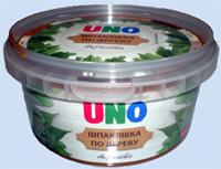 Шпатлевка по дереву акриловая UNO PLASTICO (11 грн/кг.)