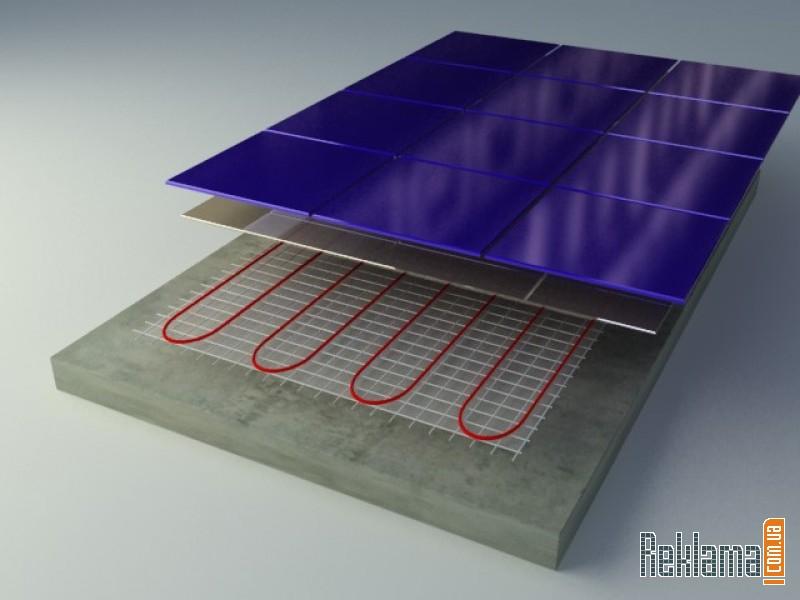 Предлагаем DEVI: Нагревательный мат DTIR-150: тонкий ''теплый пол'' толщиной...