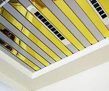 Купить подвесной потолок - кассетный, реечный металлический