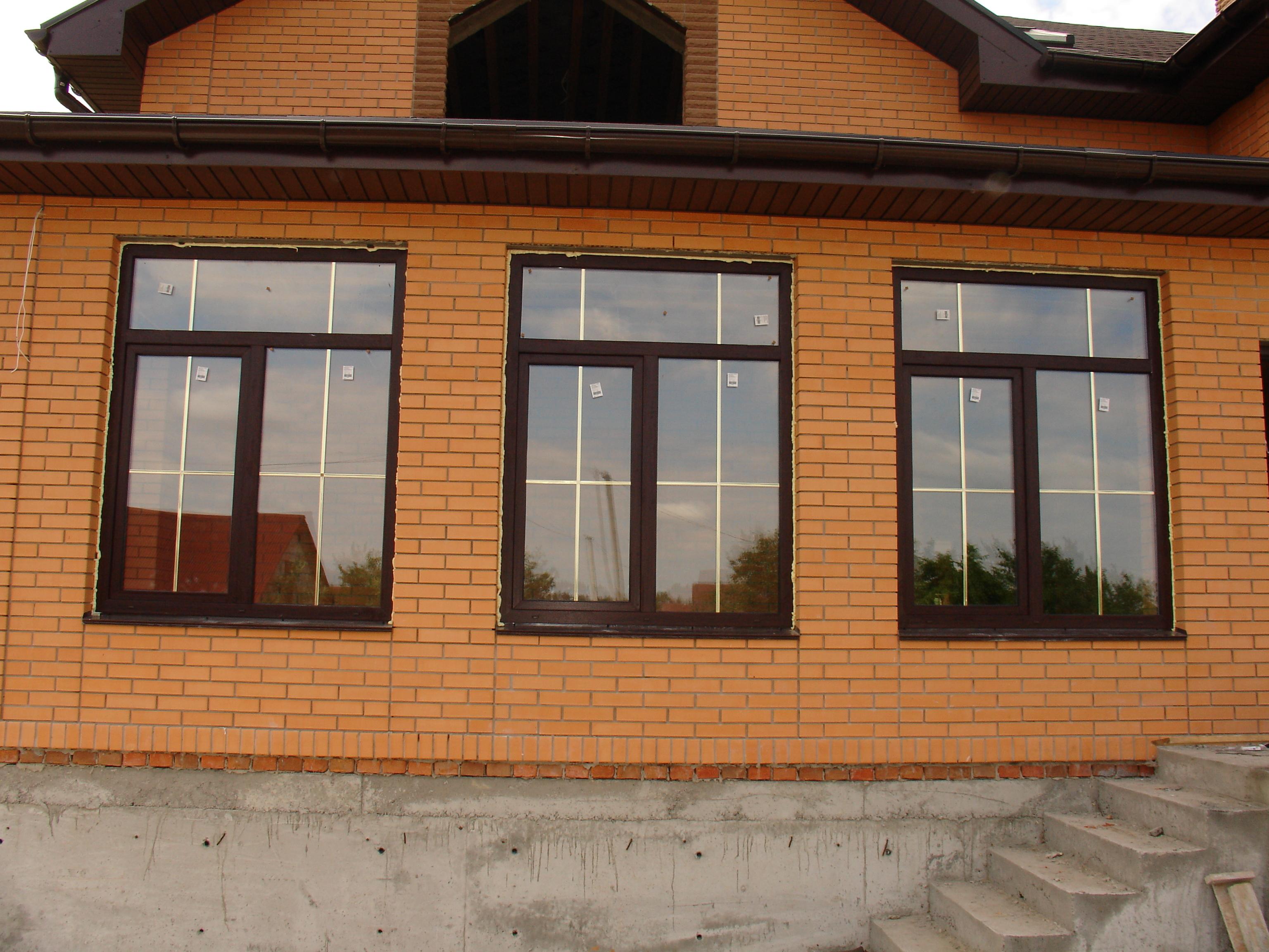 Фасадные окна фото