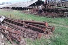 фермы перекрытия 10шт 12м с опорами 6м