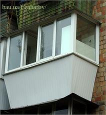 Ремонт балкона в гостинке
