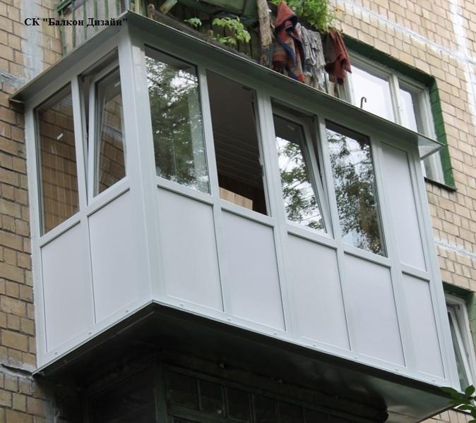 Балконы или лоджии под ключ визитка фото. - металлопластиков.