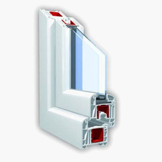 5-ти камерные безсвинцовые немецкие окна от производителя