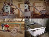 Продам б/у линию для производства пеноблоков (пенобетона) пр