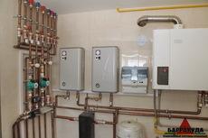 Монтаж комбинированных систем отопления