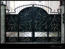 Ворота и заборы металлические