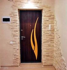 Обивка (обшивка) дверей в Киеве.