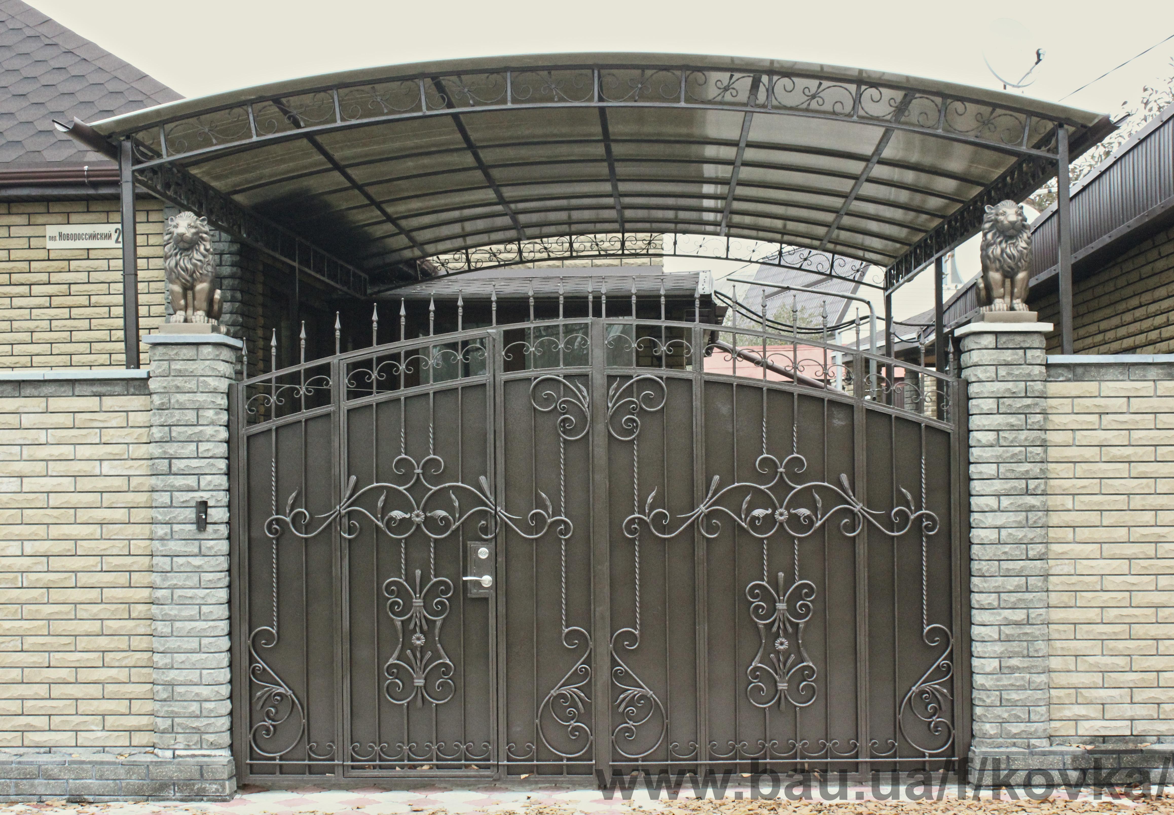 Заказать ворота металлические сварные привод ворот цены