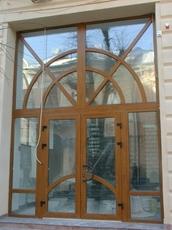 Алюминиевые и пластиковые входные двери