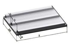 Форма для производства плит покрытия коллекторов КП-25