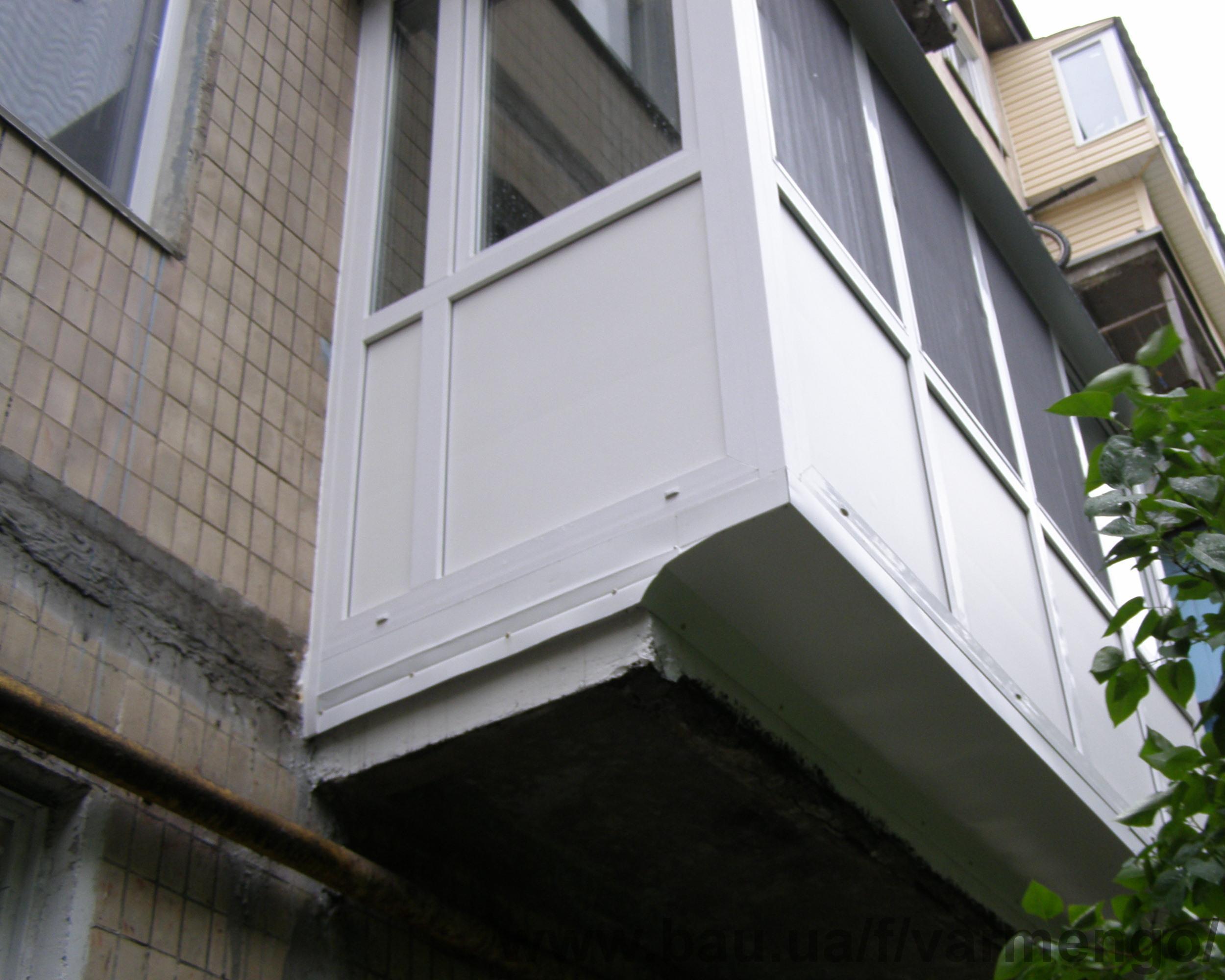 Ремонт балкона металлом цена. - остекление лоджий - каталог .