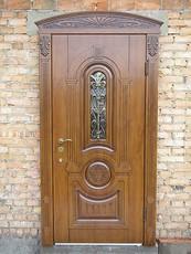Вхідні двері від виробника з ковкою під розмір.