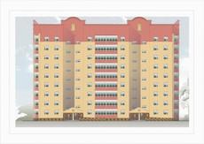 Строительство. Оплата квартирами.