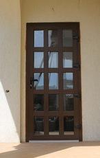 Двери пластиковые Rehau.