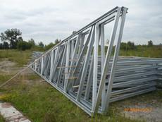 Фермы металлические односкатные новые. Цена 3000 грн.