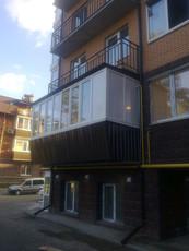 Балконы под ключ от Дизайн Пласт® в Киеве и области