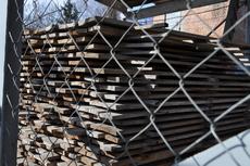 Заготовки из дубовой доски под мебельные фасады. 1650х125х25