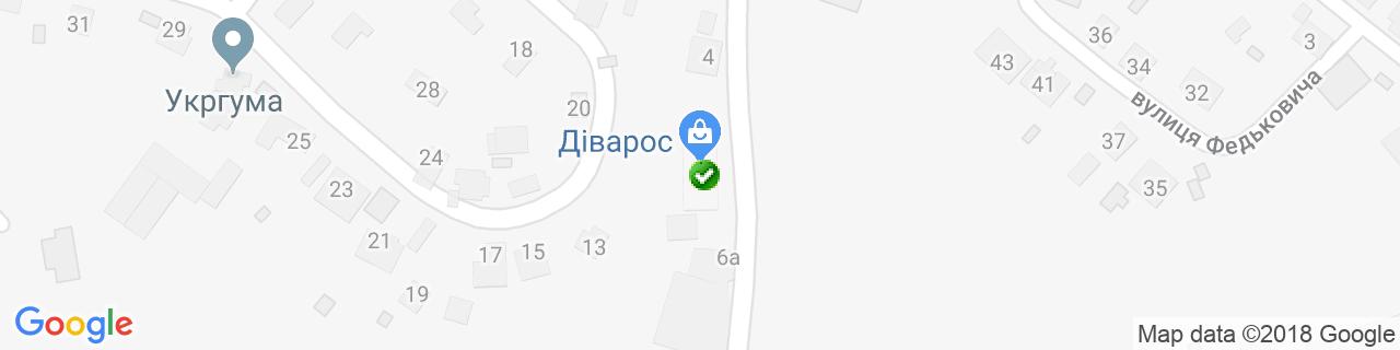 Карта объектов компании Барракуда - Современные системы отопления