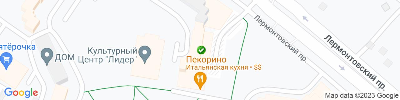 Карта объектов компании Холод