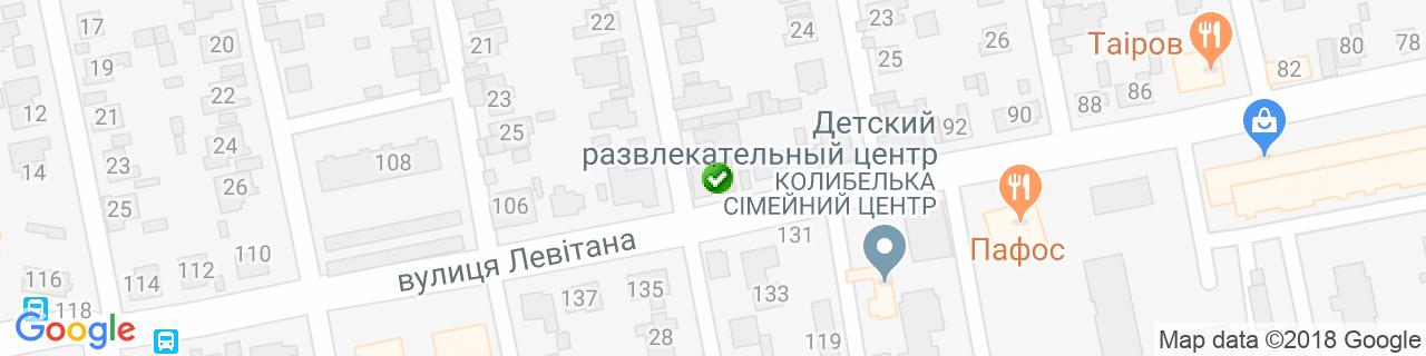 Карта объектов компании Гюмри