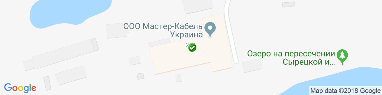 Карта объектов компании Левша