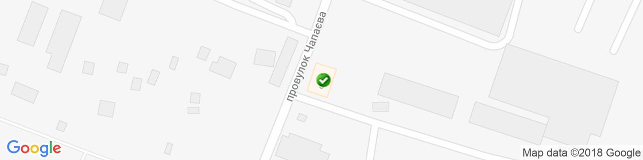 Карта объектов компании КровМикс