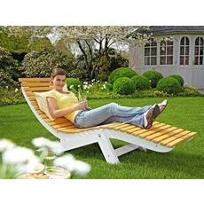 Шезлонг (лежак) для отдыха в саду