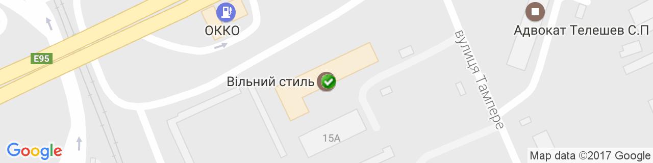 Карта объектов компании ЭТЦ Контактбуд